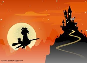Imagen de Invitaciones para compartir gratis. Invitación a fiesta de Halloween!