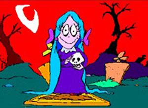 Imagen de Halloween para compartir gratis. Pesadillas