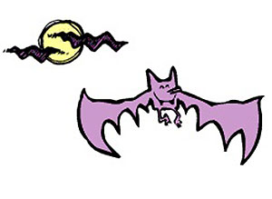 Imagen de Halloween para compartir gratis. Vampiros