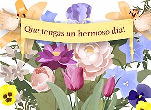 Imagen de Animo para compartir gratis. Que tengas un hermoso día!