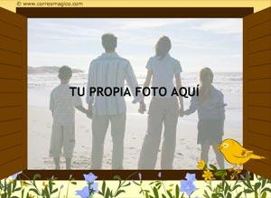 Imagen de Felicitaciones para compartir gratis. Ventana
