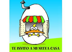 Imagen de Invitaciones para compartir gratis. Te invito a mi nueva casa