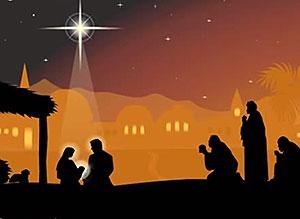 Imagen de Reyes Magos para compartir gratis. Venid, adoremos