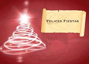 Imagen de Navidad para compartir gratis. Deseos de paz y prosperidad