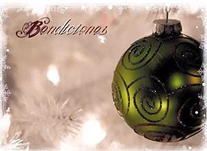 Imagen de Navidad para compartir gratis. Bendiciones