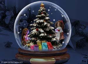 Imagen de Navidad para compartir gratis. Las bendiciones que Dios te ha dado