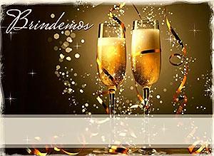 Imagen de Navidad para compartir gratis. Por los presentes y los ausentes