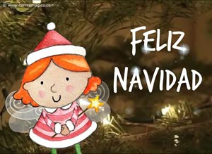 Tarjetas animadas gratis de Feliz Navidad Imagenes navideas para