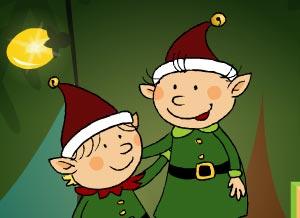 Imagen de Navidad para compartir gratis. A la distancia