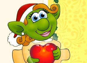 Imagen de Navidad para compartir gratis. Te envío duendes!