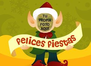 Imagen de Navidad para compartir gratis. Elfo danzarín