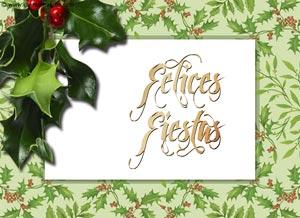 Imagen de Navidad para compartir gratis. Bendiciones y prosperidad