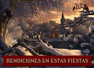 Imagen de Navidad para compartir gratis. Bendiciones en estas Fiestas