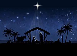 Imagen de Navidad para compartir gratis. Una morada para nuestro Señor