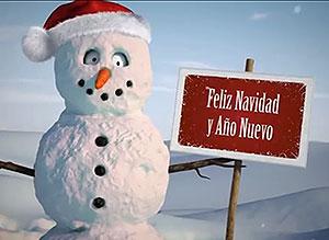 Imagen de Navidad para compartir gratis. Alegres sorpresas
