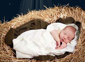 Imagen de Navidad para compartir gratis. El Amor nació en Navidad