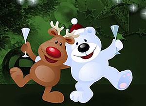 Imagen de Navidad para compartir gratis. Por nuestra Amistad