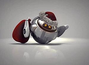 Imagen de Navidad para compartir gratis. Navidad futurista