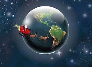 Imagen de Navidad para compartir gratis. Paz, alegría y felicidad