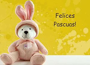 Imagen de Pascuas para compartir gratis. Traigo un mensaje para ti
