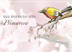 Imagen de Día de la Primavera para compartir gratis. Que disfrutes esta Primavera