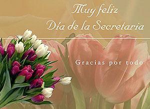 Imagen de Día de la Secretaria para compartir gratis. Gracias por todo