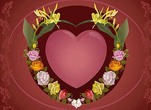 Imagen de San Valentín para compartir gratis. Feliz día de San Valentín