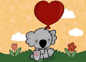 Imagen de San Valentín para compartir gratis. Te mando un poquito de amor
