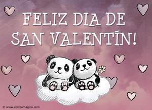 Imagen de San Valentín para compartir gratis. Todo está bien si estamos juntos