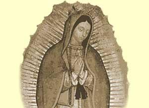 Imagen de Feliz Santo para compartir gratis. Feliz Día de la Virgen de Guadalupe