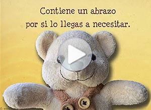 Imagen de Amistad para compartir gratis. Tarjeta con abrazo