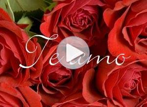 Video tarjeta de Amor. Rosas