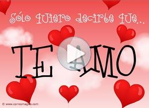 Imagen de Amor para compartir gratis. Sólo quiero decirte que te amo