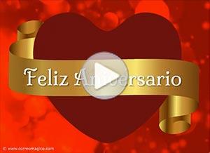 Tarjeta Animada De Aniversarios Promesa De Amor