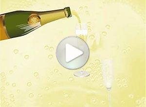 Imagen de Año Nuevo para compartir gratis. Brindemos juntos