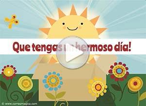 Imagen de Animo para compartir gratis. Te envío una caja de sol