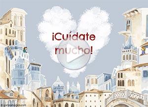 Imagen de Cuarentena para compartir gratis. Siempre juntos en el corazón
