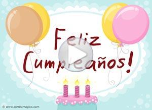 Imagen de Cumpleaños para compartir gratis. La alegría de hoy