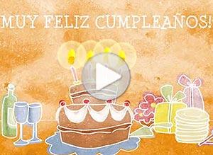 Imagen de Cumpleaños para compartir gratis. Todo un año de felicidad