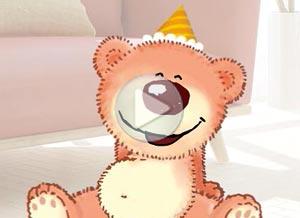 Imagen de Cumpleaños para compartir gratis. Te daré un abrazote cuando te vea