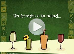 Imagen de Cumpleaños para compartir gratis. A toast to your health