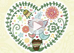 Imagen de Día de la Amigo para compartir gratis. Felicidad en tu corazón