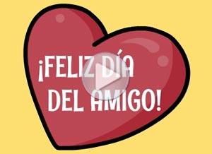 Imagen de Día de la Amigo para compartir gratis. Te mando 4 sorpresas