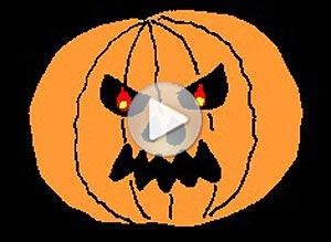 Imagen de Halloween para compartir gratis. Feliz Noche de Brujas