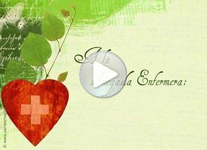 Imagen de Profesiones para compartir gratis. A la abnegada Enfermera