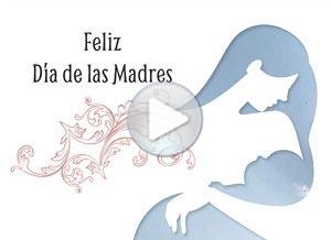 Imagen de Día de las Madres para compartir gratis. Una Madre tiene algo de Dios