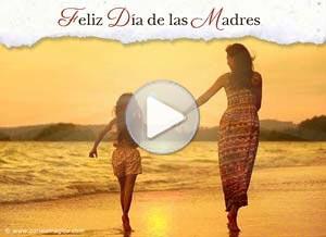Imagen de Día de las Madres para compartir gratis. Que Dios te lleve de la mano