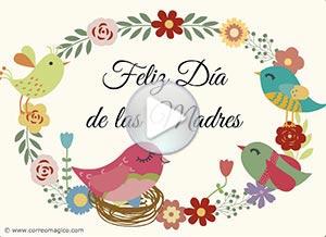 Imagen de Día de las Madres para compartir gratis. Con mucho cariño en tu día