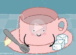 Imagen de Dia de la Mujer para compartir gratis. Un té que nos hace muy bien…