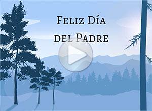 Imagen de Día del Padre para compartir gratis. Que Dios te ilumine